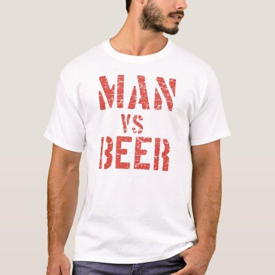 Man V Beer T-Shirt