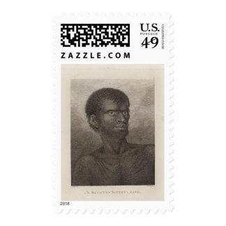 Man Van Diemen s Land Tasmania Postage Stamp