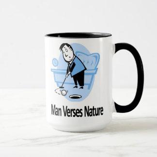 Man Verses Nature Mug