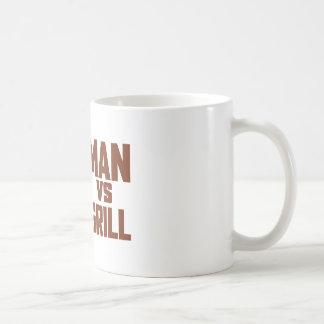 Man Vs Grill Coffee Mug