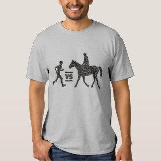 Man vs Horse Marathon Grungy T-Shirt