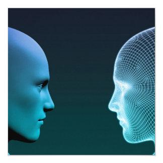 Man vs Machine Competing in the Future Card