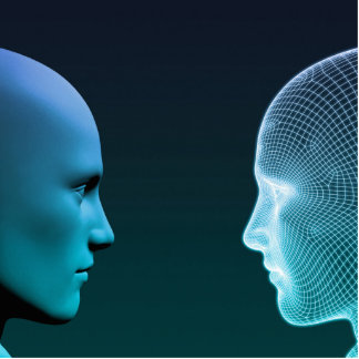 Man vs Machine Competing in the Future Cutout