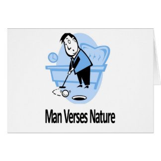 Man vs Nature Collection Card