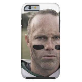 Man wearing American football kit, high section, Tough iPhone 6 Case