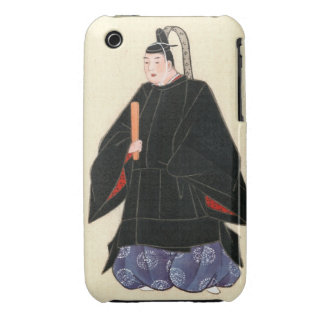 Man Wearing Minister's Robe and Kimono 1878 iPhone 3 Cover