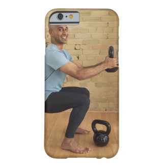 Man Weight Training iPhone 6 Case