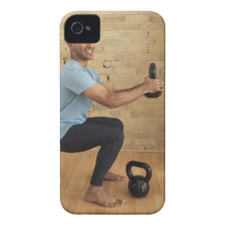 Man Weight Training iPhone 4 Case