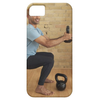 Man Weight Training iPhone 5 Cases