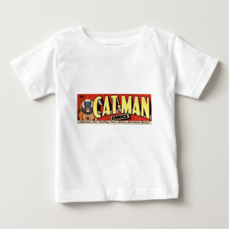 Man who Fancies Cats Banner Baby T-Shirt