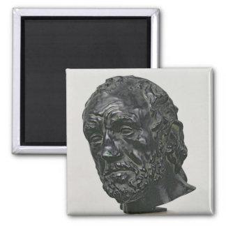 Man with a Broken Nose, 1865 Magnet