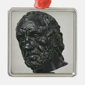 Man with a Broken Nose, 1865 Metal Ornament