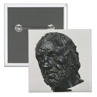 Man with a Broken Nose, 1865 Pinback Button