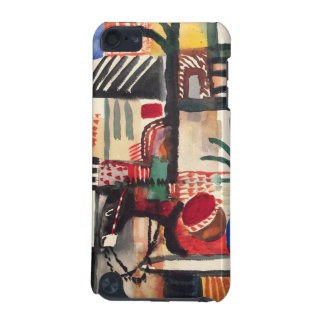 Man with a donkey by August Macke iPod Touch 5G Cases