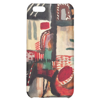 Man with a donkey by August Macke iPhone 5C Covers