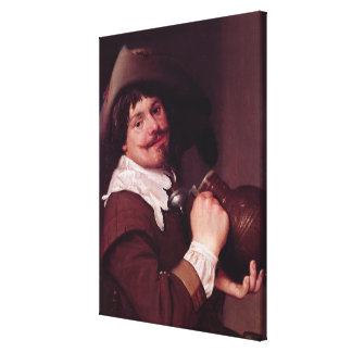 Man with a Jug Gallery Wrapped Canvas