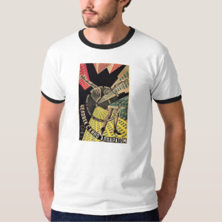 Man With A Movie Camera 1929 color movie poster Tee Shirt