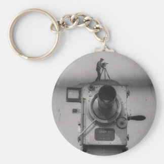 Man with a Movie Camera (1st Shot) Keychain