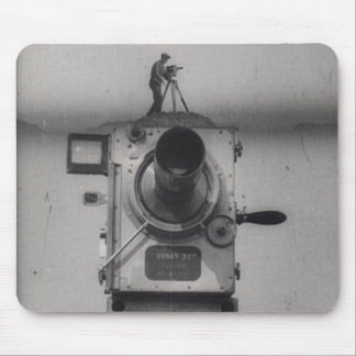 Man with a Movie Camera (1st Shot) Mouse Pad