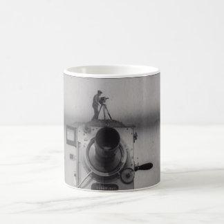 Man with a Movie Camera (1st Shot) Classic White Coffee Mug