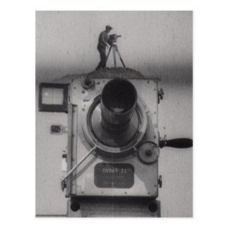 Man with a Movie Camera (1st Shot) Postcard