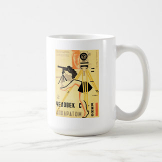 """Man With A Movie Camera"" Mug"