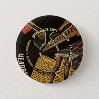 Man with a Movie Camera Poster Button