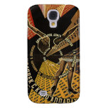Man with a Movie Camera Poster Samsung Galaxy S4 Case
