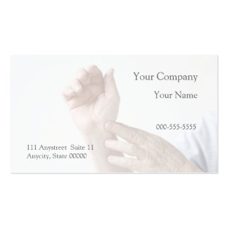 man with an aching wrist business card