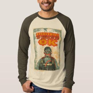 Man with anti-radiation equipment T-Shirt