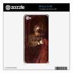 Man with arms (Alexander the Great) by Rembrandt Skins For The iPhone 4S