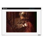 Man with arms (Alexander the Great) by Rembrandt Decal For Laptop