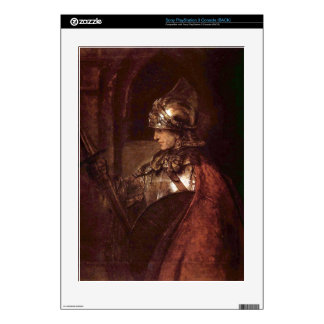 Man with arms (Alexander the Great) by Rembrandt PS3 Console Decal