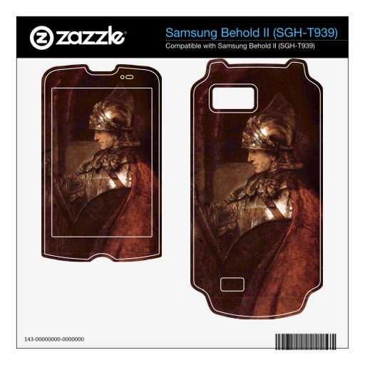 Man with arms (Alexander the Great) by Rembrandt Samsung Behold II Skin