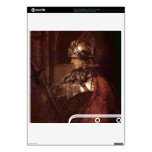 Man with arms (Alexander the Great) by Rembrandt PS3 Slim Console Decal