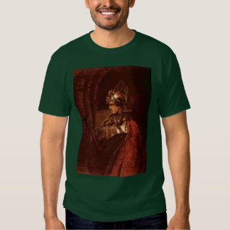 Man With Arms (Alexander The Great) By Rembrandt T-Shirt