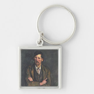 Man with Crossed Arms, c.1899 Keychain