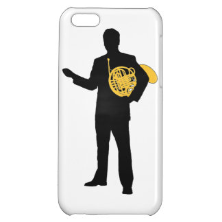 Man With French Horn T-shirt iPhone 5C Case