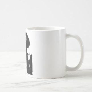 Man with Gas Mask Coffee Mug