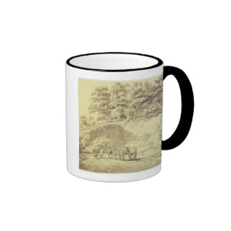 Man with Horse and Cart Entering a Quarry, c.1797 Mugs