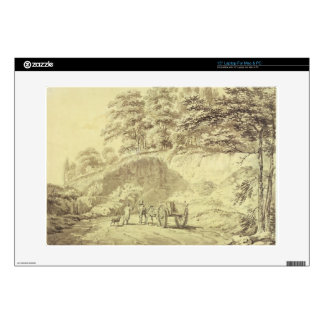 """Man with Horse and Cart Entering a Quarry, c.1797 Skin For 15"""" Laptop"""