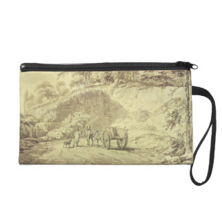 Man with Horse and Cart Entering a Quarry, c.1797 Wristlet Purse