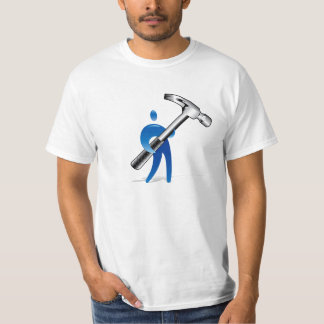 Man with huge hammer T-Shirt