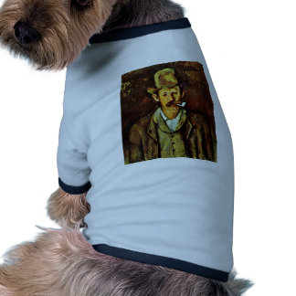 Man With Pipe By Paul Cézanne (Best Quality) Pet Shirt
