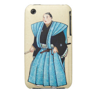 Man With Robe Over Kimono 1878 iPhone 3 Covers