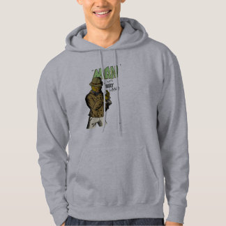 man with robot hand - Customized Hoodie
