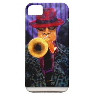 Man With The Golden Horn iPhone 5 Cover