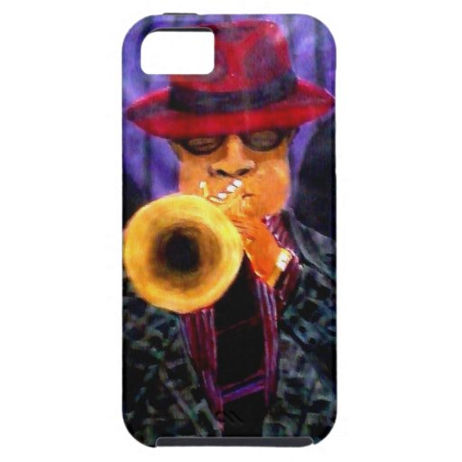 Man With The Golden Horn iPhone 5 Cases