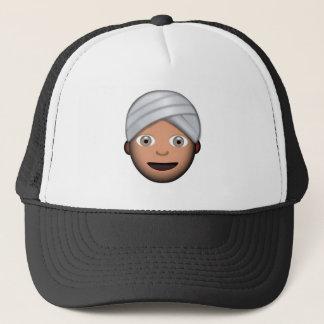 Man With Turban Emoji Trucker Hat