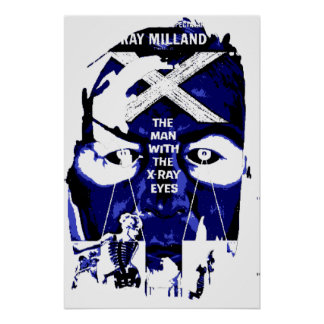 Man With X-Ray Eyes Poster